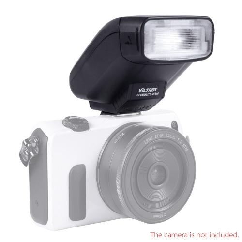 Viltrox JY-610 sur l'appareil photo Mini  Flash Speedlite pour Canon EOS 650D 600D 1200D M m2 A7R A7K Sony NEX-6L Appareil photo reflex numérique