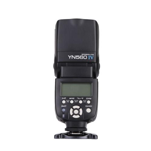 YONGNUO YN560 IV 2.4GHZ Speedlite Flash Transceptor Inalámbrico Integrado para  Canon Nikon Panasonic Pentax Cámara