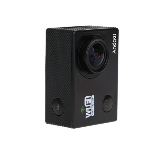 Mini 1080P FHD Wifi DV Wasserdicht Sport   Action-Kamera-Camcorder Auto-DVR im Freien Fahrradhelm schwarz