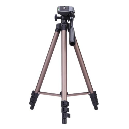 Tripé de câmera de alumínio leve Weifeng WT3130 Protable