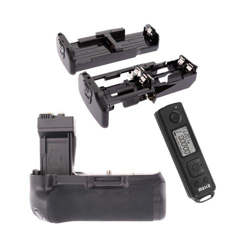 Grip Meike MK-550DR pionie baterii z 2,4 GHz bezprzewodowy pilot zdalnego sterowania dla Canon EOS 550D 600D 650D 700D
