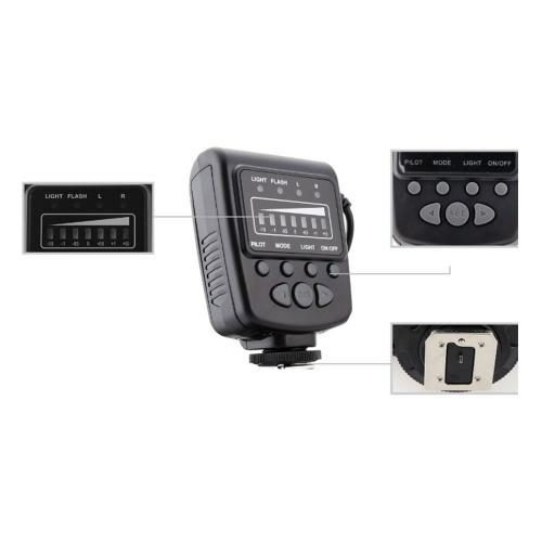 Sekundenzeiger Meike FC-100 Macro Ring Flash / Light LED für Canon EOS 700D 650D 5D III Nikon D7100 D7000 Pentax Olympus Panasonic DSLR