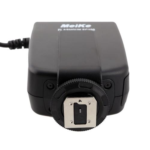 Anneau de poche Macro Flash Meike FC-100 d'occasion pour Canon EOS 700D 650D 5D III Nikon D7100 D7000 Pentax Olympus Panasonic DSLR