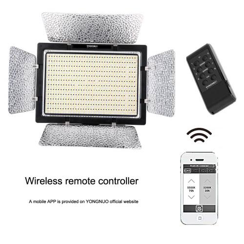YONGNUO YN900 CRI 95+ Bezprzewodowa Lampa wideo LED panel 3200K-5500K 7200LM 54W Oświetlenie kamery Canon Nikon