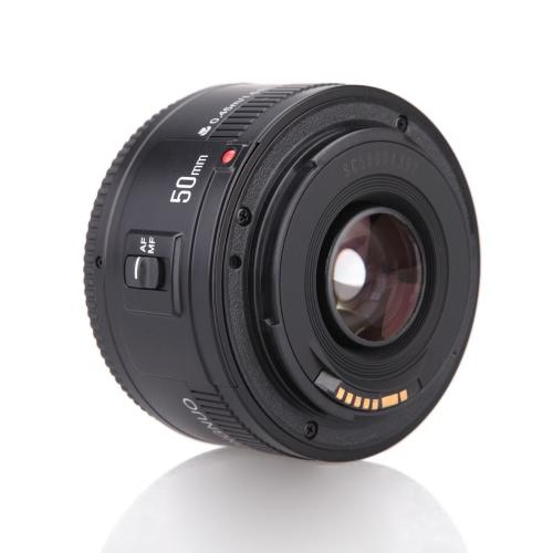 YONGNUO YN EF 50mm f/1.8 AF obiettivo 1: 1,8 obiettivo Standard primario apertura Auto Focus per fotocamere Canon EOS DSLR