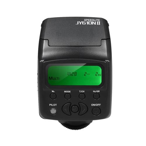 Viltrox JY 610N II i TTL カメラにミニ フラッシュ スピード ライト ニコン D3300 D5300 D7100 カメラ用