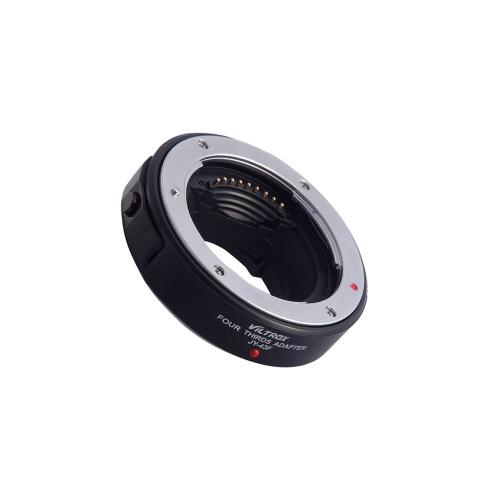 Viltrox JY-43F AF foco autofoco adaptador anel Metal montagem para 3/4 lente para Micro câmera de montagem M4/3 para Olympus E-PL1 PL2 PL3 P1-e Panasonic G3 câmera DSLR