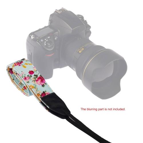 Camera Shoulder Neck Chinese Rose Style Strap Belt for Sony Nikon Canon Olympus Panasonic Pentax DSLR SLR