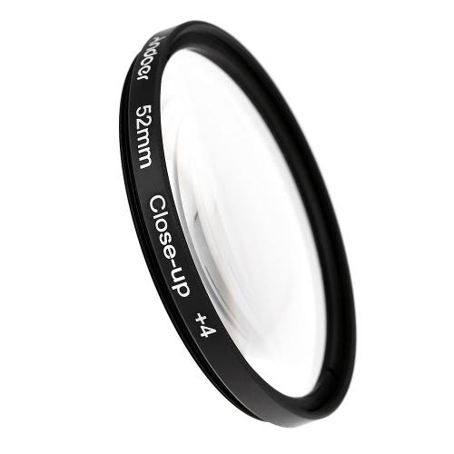 Andoer 52 milímetros Macro close-up filtro definido + 1 + 2 + 4 + 10 com bolsa para Nikon D7200 D5200 D3200 D3100 Canon DSLRs Pentax Sony