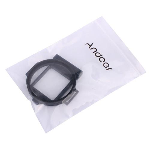 Andoer 58mm obiektywu Filter Adapter aluminiowy pierścień sportowe kamery GoPro Hero 3/3 + / 4
