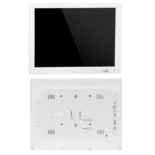 Andoer 15\'\' HD TFT-LCD 1024*768 Digital Photo Frame Alarm Clock MP3 ...
