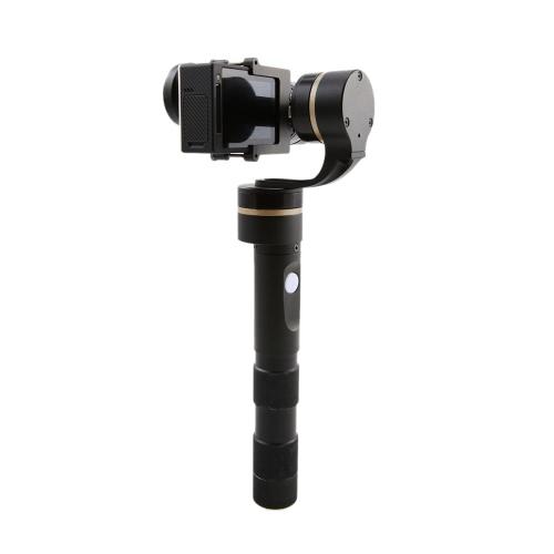 Feiyu FY-G4 Ultra 3-osiowy Handheld Gimbal Stabilizator aparatu Steadycam Zdjęcie dla Gopro 3 3+ 4