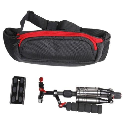 Second Hand Andoer Adjustable Plate Carbon Fiber Professional Photography Stabilizer Monopod for Camcorder DV Video Camera DSLR