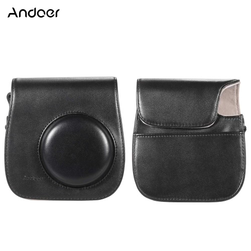 andoer leather camera case bag cover