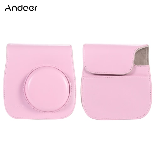 Andoer Leather Camera Case Bag Cover фото