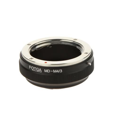 Fotga MD-M4/3 Adapter Digital Ring Minolta MD MC Lens to Micro 4/3 Mount Camera (for Panasonic G1 G2 G3 G5 GH1 GH2 GH3 GF1 GF2 GF3 GF5 GF6 GX1   GX2 and Olympus E-P1 E-P2 E-P3 E-P5 E-PL1 E-PL2 E-PL3 EPL5 EM-P1 EM-P2 etc.)