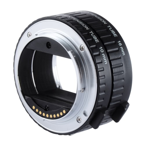 Viltrox DG-NEX Messa a fuoco automatica AF Extension Tube Ring 10 millimetri 16 millimetri Set Mount metallo per Sony E mount-Lens