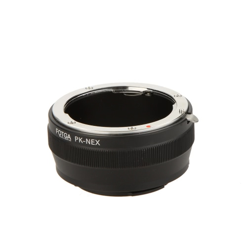 Fotga PK-NEX Adapter Digital Ring for Pentax PK K Mount Lens to Sony NEX E-Mount Camera (for Sony NEX-3 NEX-3C NEX-3N NEX-5 NEX-5C NEX-5N NEX-5R   NEX-5T NEX-6 NEX-7)