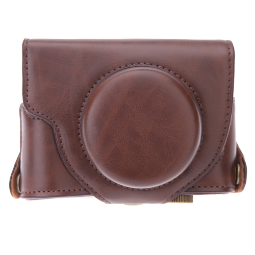 Hard Leather Camera Case Bag with Strap for Fuji Fujifilm X30