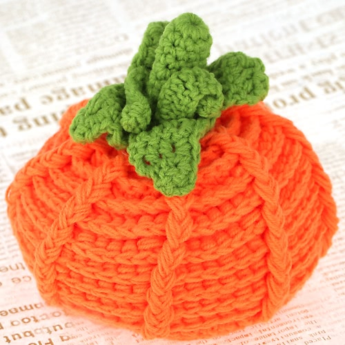 新生児用衣装柔らかい愛らしい服写真撮影小道具を編み物赤ちゃん幼児カボチャ ベルナット帽子キャップのかぎ針編み