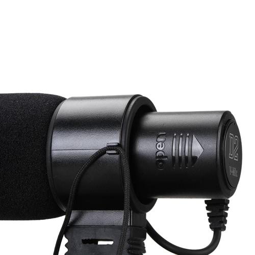 Aputure V-Mic D2 sensibilité micro condensateur directionnel réglable pour Canon Nikon Sony caméra DV