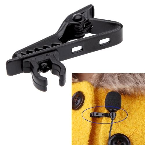 Microphone Revers Tie Clip pour micro cravate