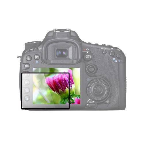 LARMOR GGS IIII Self-Adhesive Optical Glass Camera LCD Screen Protector for Canon 7D