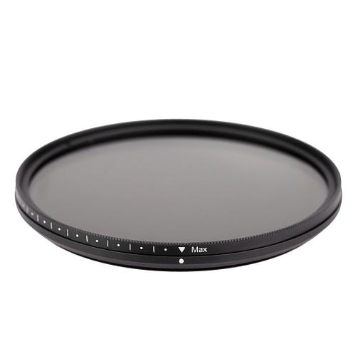 Fotga 82millimetri Slim Fader ND variabile e Filtro regolabile a densità neutra ND2 a ND400