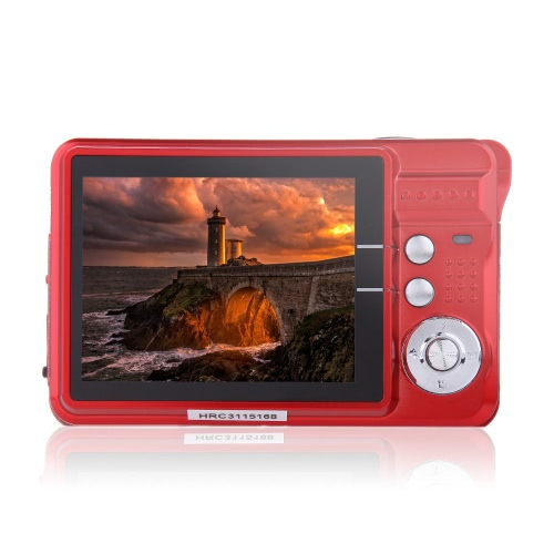"HD Digital Camera 18MP 2.7"" TFT 8x"
