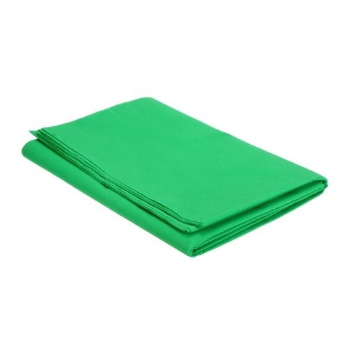 Sekundenzeiger 1,6 x 3M / 5 x 10FT Fotostudio Vlieshintergrund-Hintergrundbild 3 Farben für Option Schwarzweiß Grün