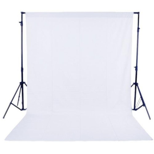 1.6 x 3M / 5 x 10FT Photography Studio Non-woven Backdrop / Background Screen 3 Colors for Option Black White Green