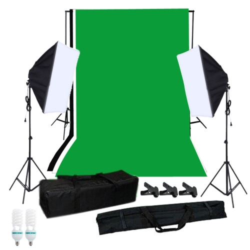 Andoer Fotografie Softbox Beleuchtung Kit