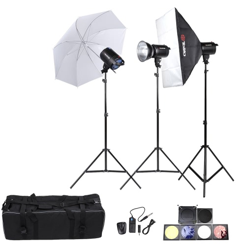 Tolifo Photography Studio Speedlite Lighting Lamp Kit Set