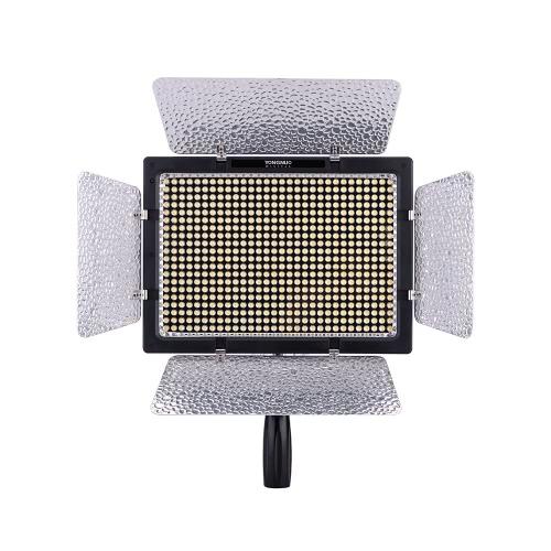 Yongnuo YN600L 600 LED メーカービデオライトランプ 超節可能な色温度 Canon Nikonビデオ、一眼レフカメラ+ 電源アダプターリモコン用