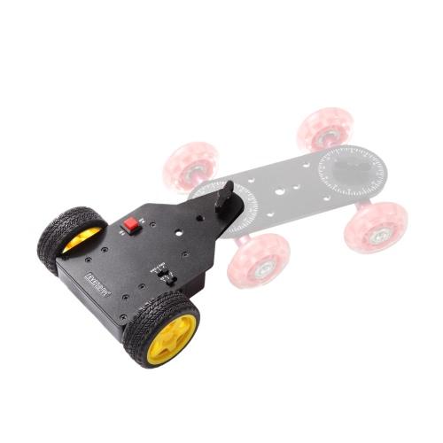 Sevenoak SK-MS01 Motorized Push Cart Dolly Tractor for Camera Cam Dolly for Canon Nikon Camera Gopro Mini Camcorder