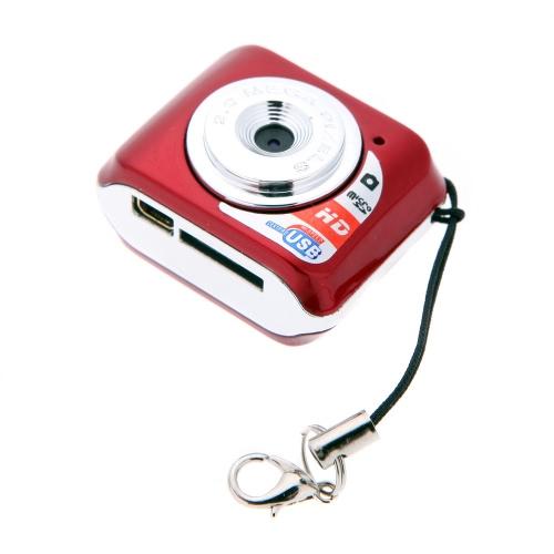 X3 Portable Ultra Mini HD High Denifition Digital Camera Mini DV Support 32GB TF Card with Mic