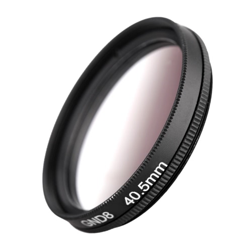 Andeor 40.5mm Circular Shape Graduated Neutral Density GND8 Graduated Gray Filter for Canon Nikon DSLR Camera