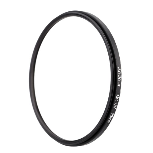 72mm Ultradünne Multi-Coated MC UV ultravioletter Filter Objektiv-Schutz für Canon Nikon DSLR-Kamera