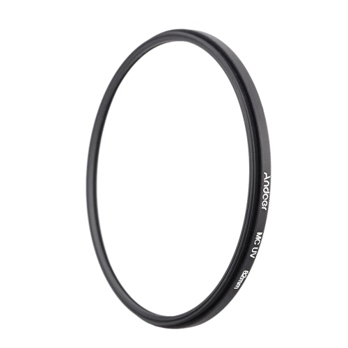 Andoer 82mm Ultrathin Multi-Coated MC UV Ultra-Violet Filter Lens Protector for Canon Nikon DSLR Camera