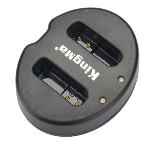 Зарядное устройство для батареи 2 - канальный NB - 12L KingMa двойной для Canon LEGRIA mini X Powershot N100 G1 X MARK II