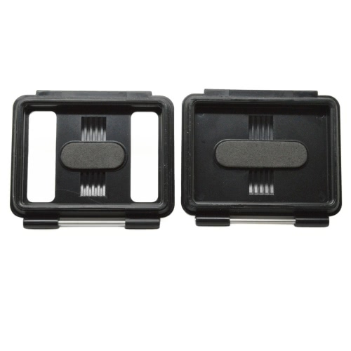 Andoer 2 in 1 Skeleton Backdoors with Fixed Pin Block Waterproof Case Backdoor + Perforated Backdoor Case Cover for GoPro Hero3+/4 and for New Hero3 Waterproof Camera Housing