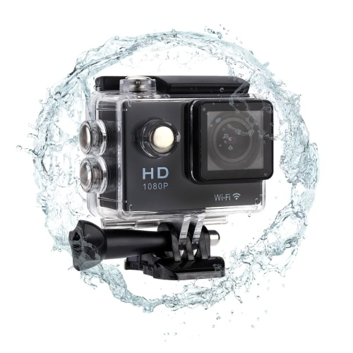 WiFi Diving 30M Waterproof Sport Action Camera 1080P 2.0