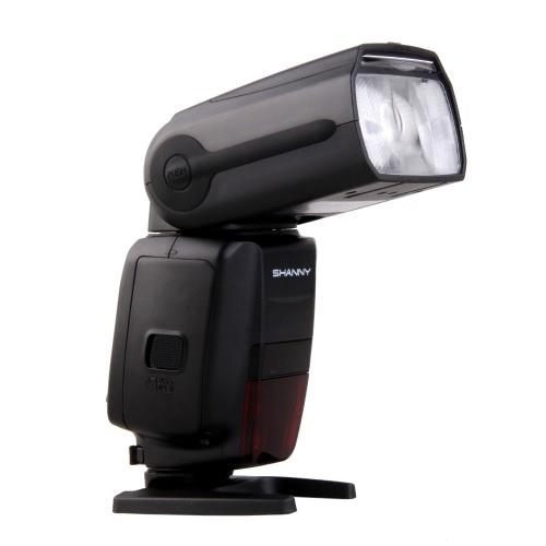 SHANNY SN600C HSS 1/8000S On-camera TTL GN60 Flashgun Flash Speedlite for Canon 7D Mark II 5D2 5D3 60D 70D 700D 650D 600D DSLR Cameras
