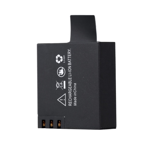 3.7V 900mAh Rechargable Li-ion Replacement Battery for SJCAM SJ4000 SJ5000 M10 X1000 Sports Camera