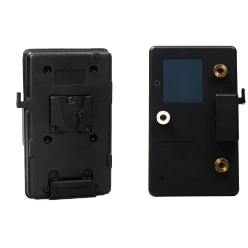 Converter Plate Mount for V-Mount Battery to Anton Bauer Gold for Sony Battery to Panasonic Camera A-GP-S