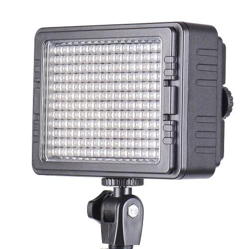 C-160S 160PCS LED Video Light Dimmable Ultra High Power Panel for Canon Nikon Pentax Panasonic SONY Samsung Olympus Digital SLR Cameras