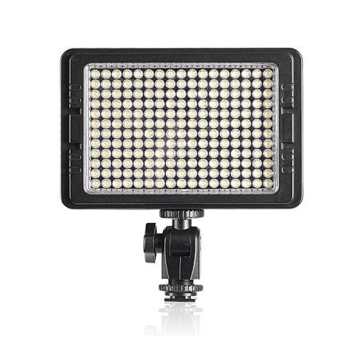 204S 204PCS LEDビデオライト 高輝度 Canon Nikon Pentax Panasonic SONY Samsung Olympusデジタル一眼レフカメラ用