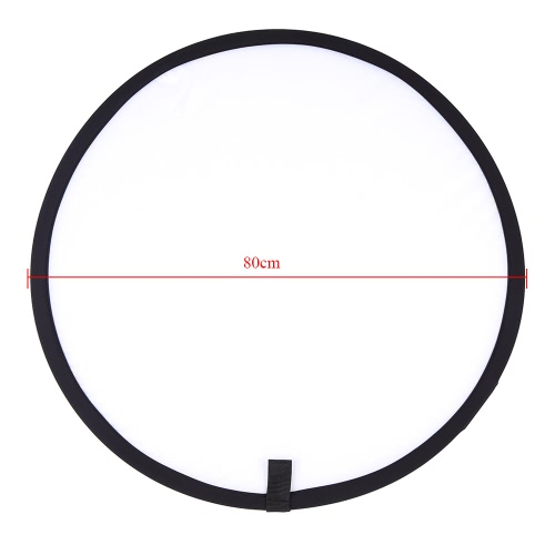 31.5'' / 80cm Haltegriff Multi zusammenlegbar Tragbare Disc Licht Transparent Reflektor für Fotografie