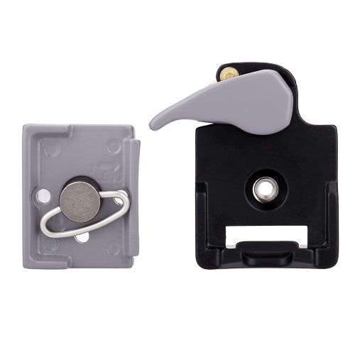 Camera 323 Quick Release Clamp Adapter + Quick Release Plate Compatible фото