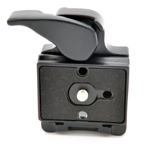 Camera 323 Quick Release Clamp Adapter + Quick Release Plate Compatible for Manfrotto 200PL-14 Compat Plate D2458B